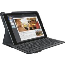 Logitech Type+ Protective Case with Integrated Keyboard for iPad Air 2 (Black)